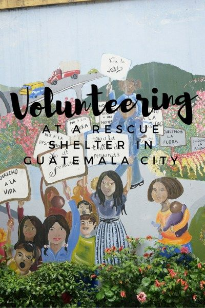 Volunteering at a rescue shelter in Guatemala City for girls who are victims of human trafficking or sexual violence. Learn more about La Alianza. www.grassrootsnomad.com.