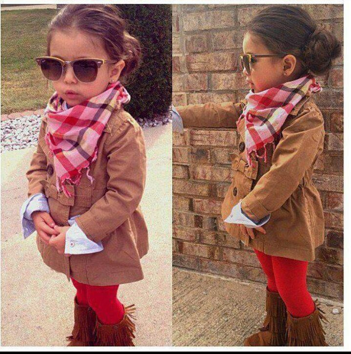 """I LOVE this jacket and saw one just like it at Old Navy and tried to convince Aurora to let us get it and she threw a fit and wouldn't even try it on because it was """"UGLY!"""" Maybe Leah will let me dress her?"""