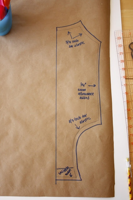 Zaaberry: Swimsuit Tutorial Part 2 - Making Your Own Pattern