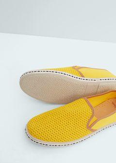Saru cipő elasztikus panelekkel