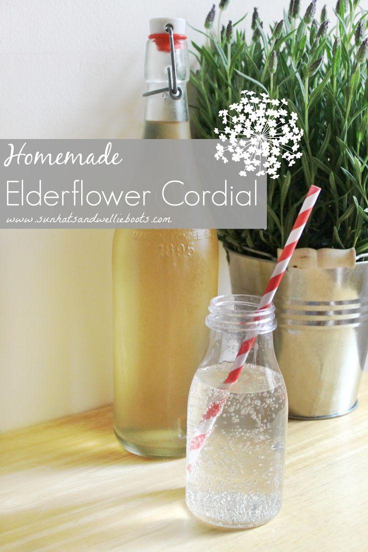 ... Boots: Homemade Elderflower Cordial recipe :: elderflower recipes