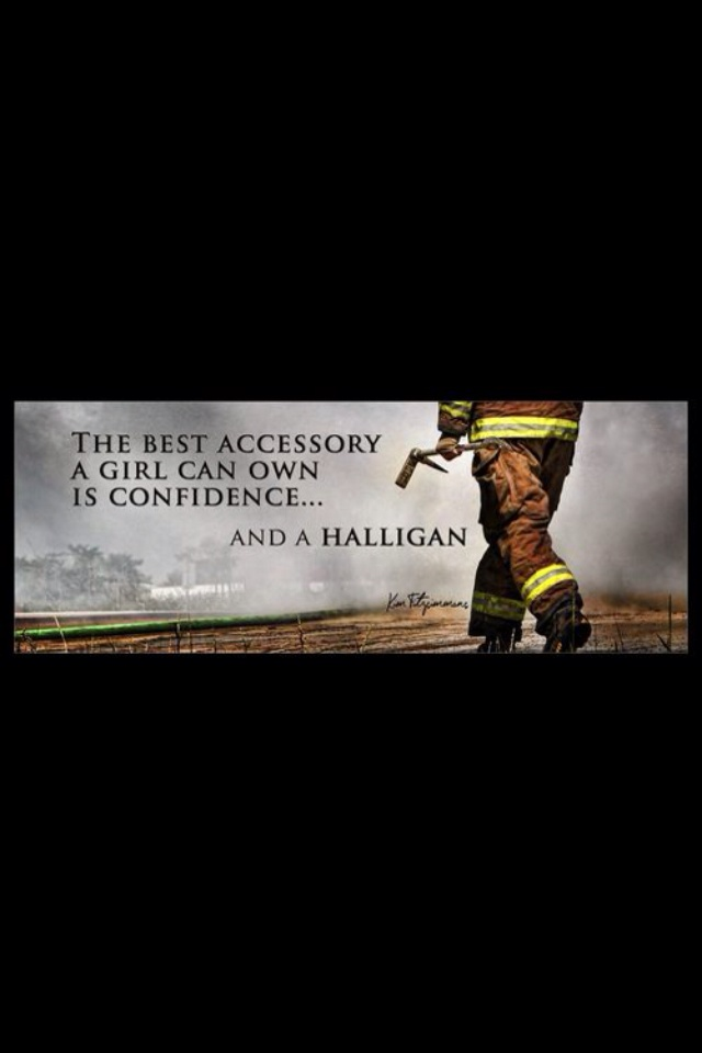 Firefighters - Nothing like a halligan and some confidence to get you where you gotta go