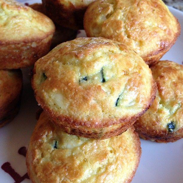 Off ~ Gluten-Free Breakfast Muffins with Zucchini, Feta, and Quinoa ...