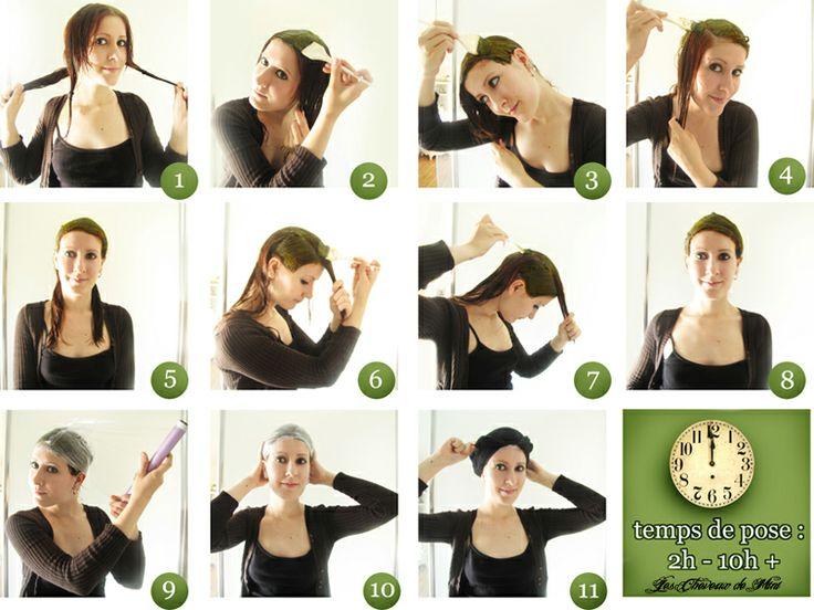 Les cheveux de Mini: Henné : comment l'appliquer.