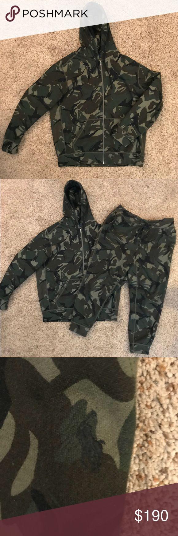 Polo by Ralph Lauren sweatsuit XL camouflage hoodie and jogger pants Polo by Ralph Lauren Shirts Sweatshirts & Hoodies