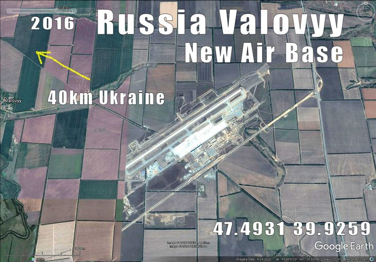 New Russian AF base build very fast only 40km from Ukraine, 20km from Rostov-On-Don.