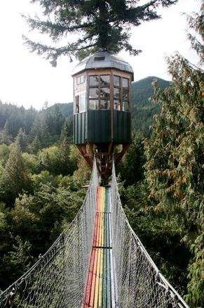 Cedar Creek Treehouse - Mount Rainier National Park, Washington State https://fr.pinterest.com/pin/404901822718290972/