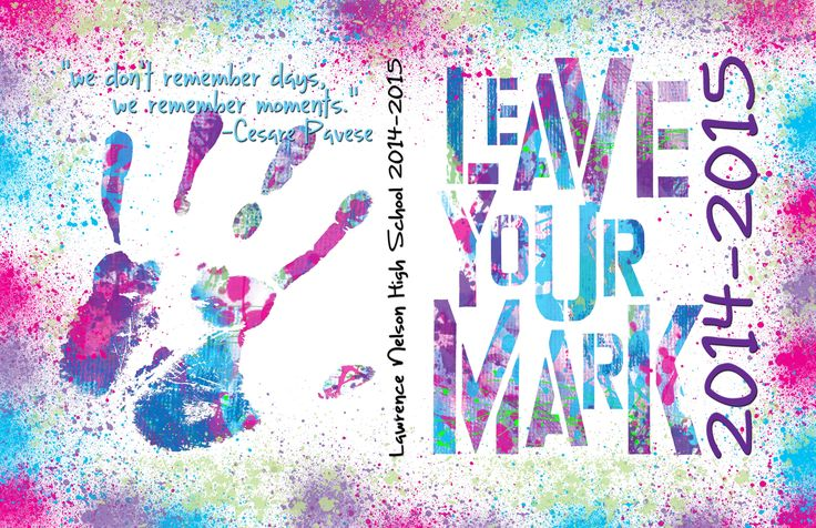 yearbook cover leave your mark - Google Search                                                                                                                                                      More