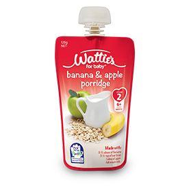 Wattie's Banana and Apple Porridge | Forbaby.co.nz