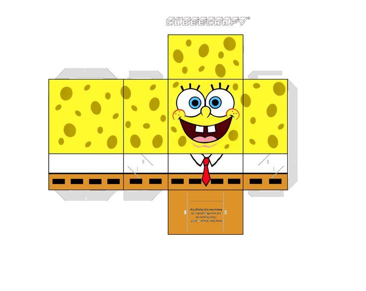 Image detail for -spongebob papercrafts