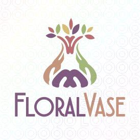Exclusive Customizable Logo For Sale: Floral Vase   StockLogos.com https://stocklogos.com/logo/floral-vase