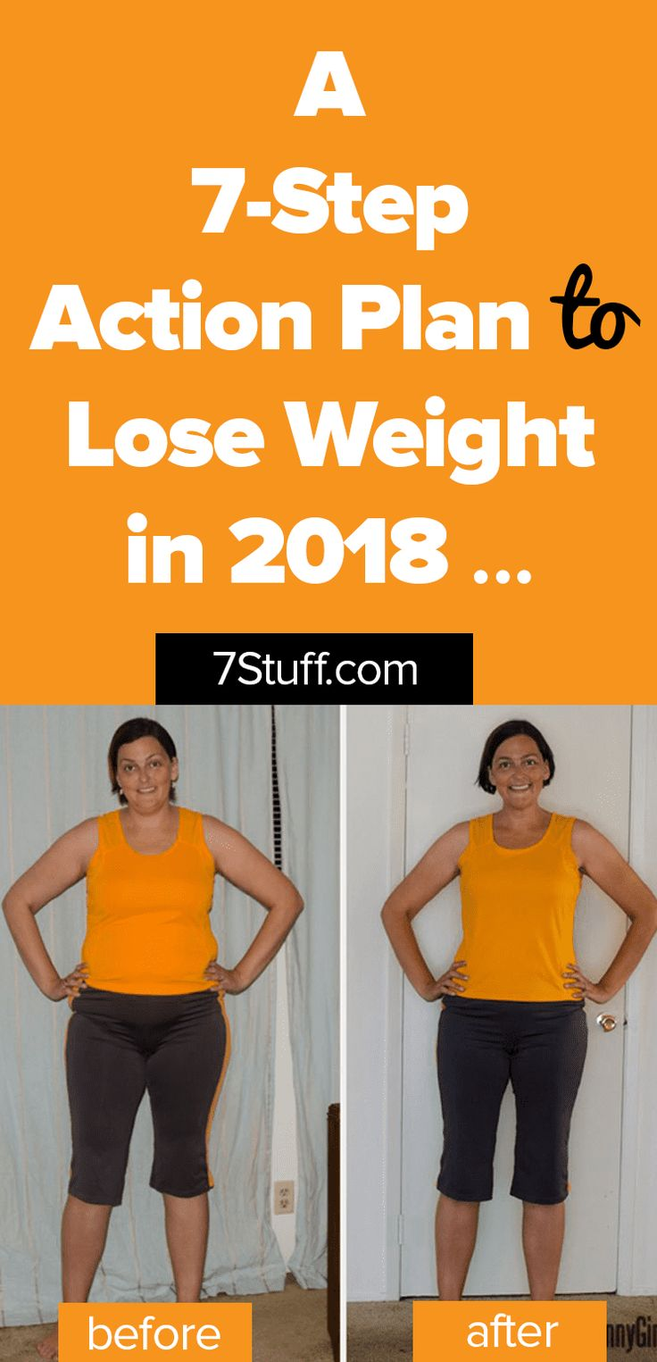 Plan to lose weight in 2018