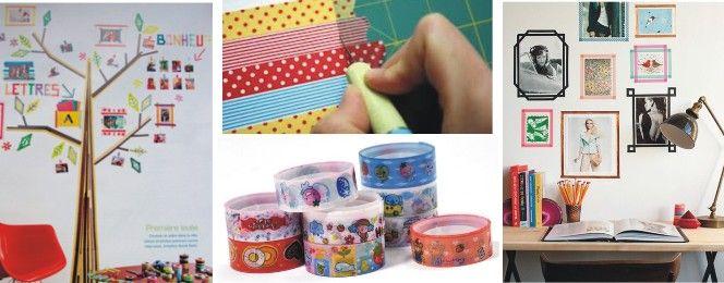 Met masking tape kun je eindeloos decoreren. Masking tape is eigenlijk niets anders dan decoratief plakband. Het idee is afkomstig uit Japan. Met masking tape decoreer je bijvoorbeeld randjes van je tafel of kastdeurtje. Je kunt enveloppen decoreren en zelfs plakfolie met een leuk randje masking tape decoreren!