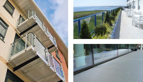 aluminium decking and external flooring from neaco
