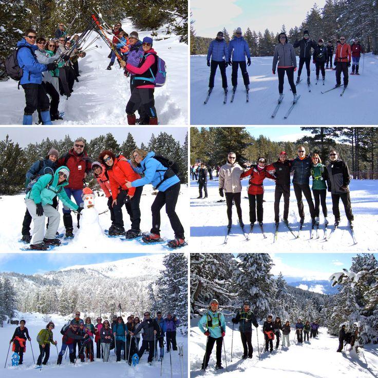 Cap de setmana de neu a La Cerdanya! Simplement, genial!!!