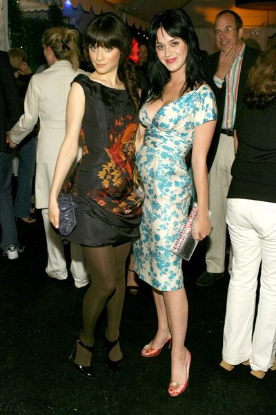 Image result for pictures of zooey deschanel and katy perry