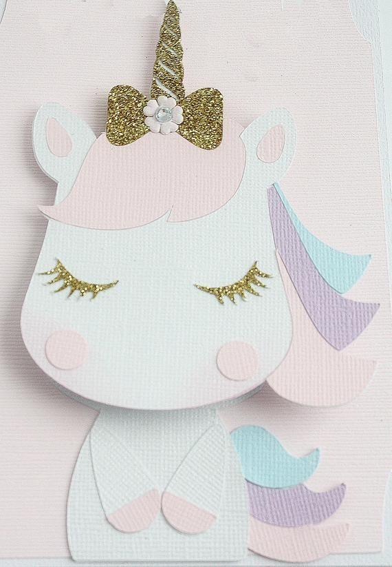 Unicornio Bobble cabeza tarjeta de cumpleaños tarjeta de Etsy cumple para male