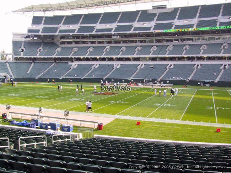 #tickets 4 Pittsburgh Steelers at Cincinnati Bengals tickets in section 138 row 20 please retweet