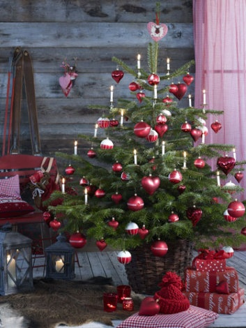 870 best christmas cozy cabin images on pinterest - Traditional german christmas tree decorations ...
