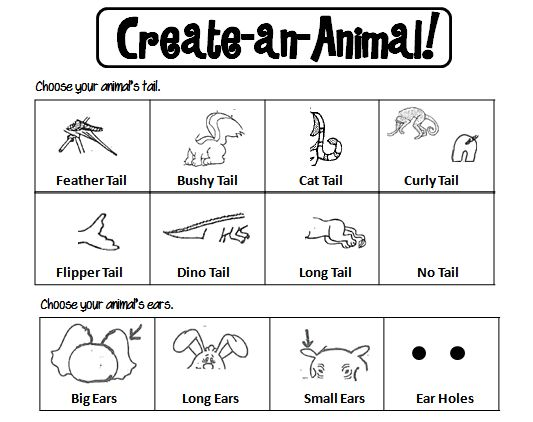 Animal Classification Activity Sheets