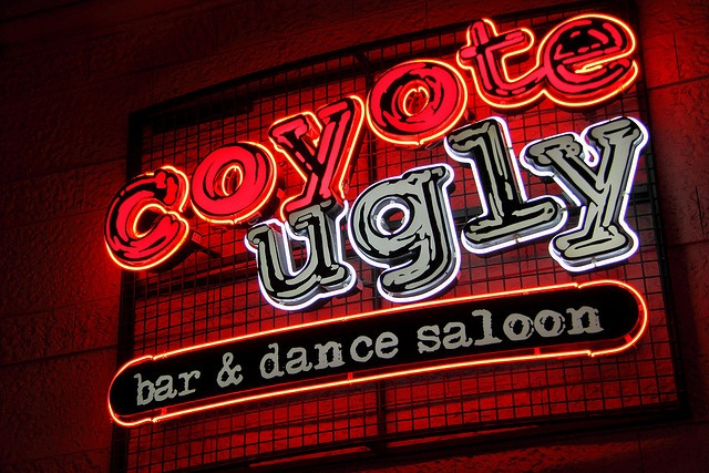 To visit the REAL Coyote Ugly Saloon. I'm obsessed with the movie. (: