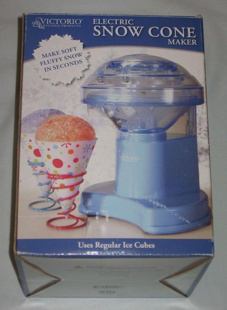 For Sale: NEW Victorio Electric Snow Cone Ice Shaver Maker Machine VKP1100 #Victorio