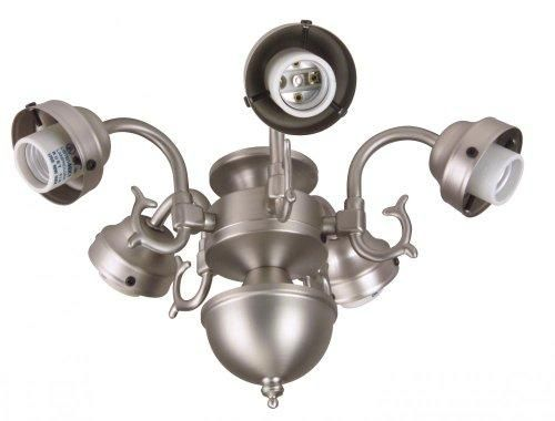 Craftmade lighting five light cast fitter ceiling fans accessories light kits fitters
