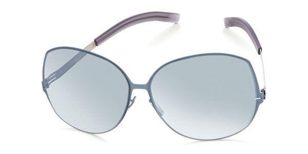 Ic! Berlin M6017 Lundi M Taubenblau - Teal Mirror Sunglasses