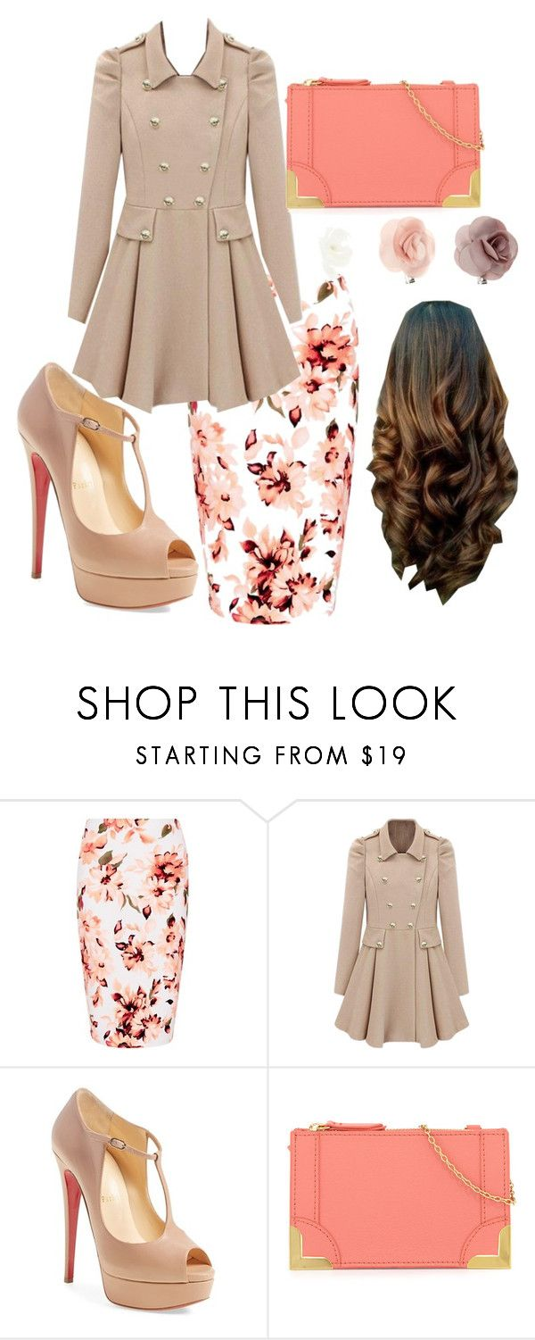 """Apostolic Fashion"" by kenasiamichelle ❤ liked on Polyvore featuring Christian Louboutin, Foley + Corinna and Accessorize"