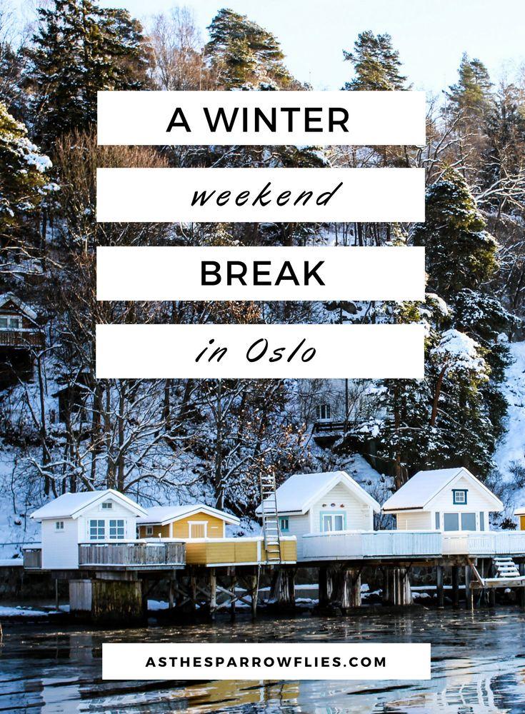 Weekend in Oslo   Oslo in Winter   Norway City Break   Oslo in the Snow   Europe via @SamRSparrow