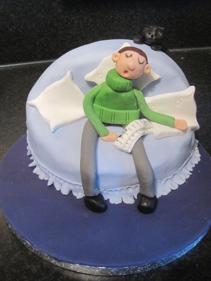 Birthday Cake Photo For Man