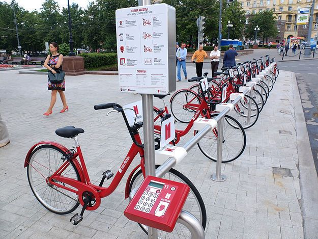 Velobike (Moscow, Russia)