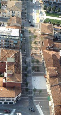 Nuovi spazi pedonali/ Cerea, Italy/Cino Zucchi Architetti