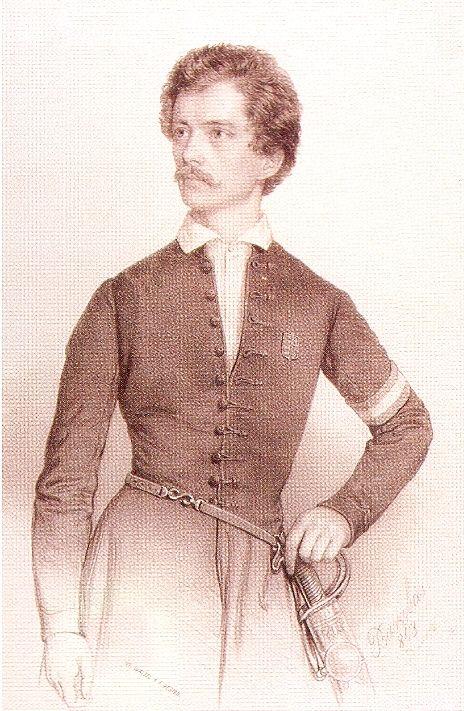 Petofi Sandor, famous hungarian poet and freedom fighter. ( 1848 szabadsagharc- uprise against the Habsburg Monarchy)