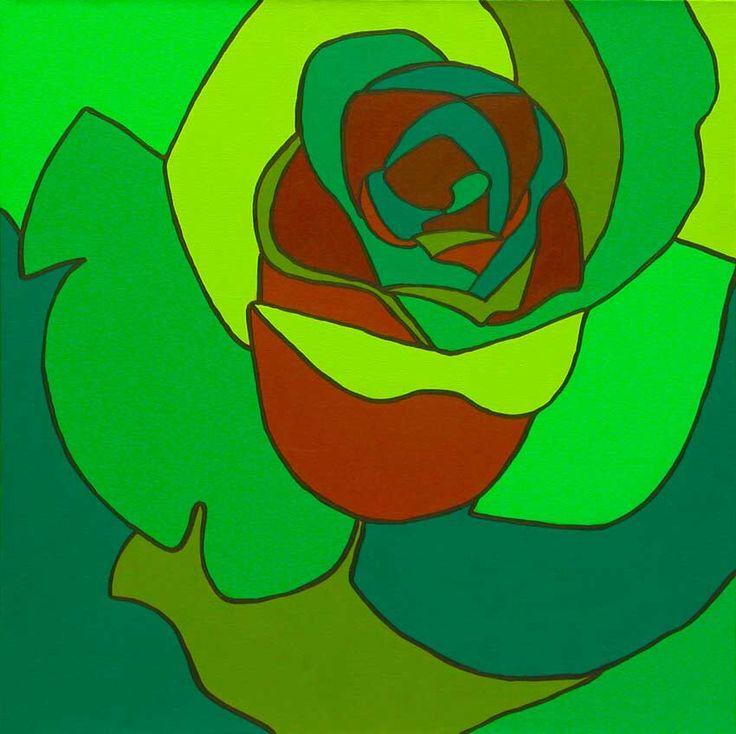 Rosa Verde y Café 2