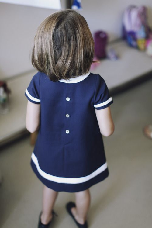 Oscar Kids. Just the cutest! @OscarPRGirl #clothes #blue #dress #girl