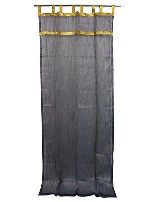 Mogul-Curtains-Sheer-Panels-Black-Gold-Stripes-Gold-Tabs-Window-Treatment    http://stores.ebay.com/mogulgallery/DRAPES-CURTAINS-/_i.html?_fsub=353416919&_sid=3781319&_trksid=p4634.c0.m322