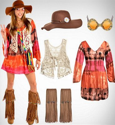 Party City Women's Hippie