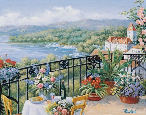 Peter Motz: Mediterranian terrace
