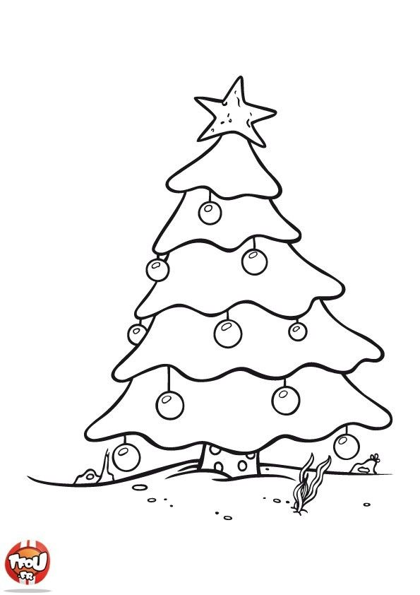 Sapin De Noel Dessin 17 Dessins De Coloriage Sapin De Noel