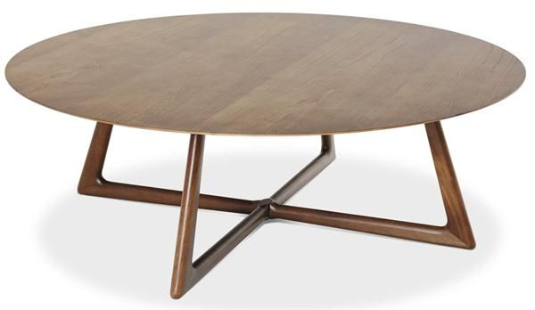 Oval coffee table from Saccaro