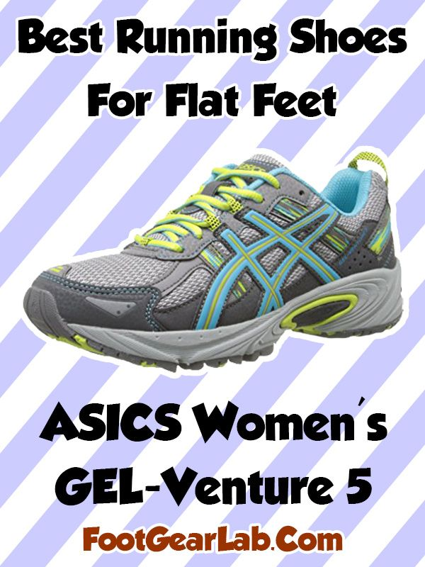 ASICS Women's GEL-Venture 5 - Best Running Shoes For Flat Feet Women - @