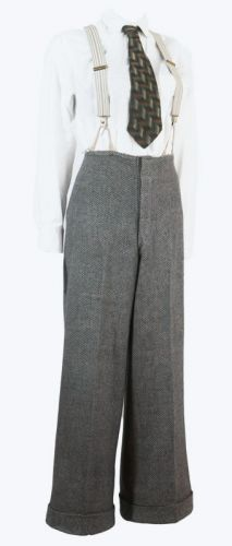 1930s Tweed Women's Pants Ex Hollywood Costume