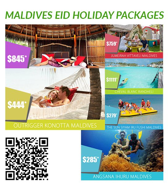 Maldives Eid Holiday Packages