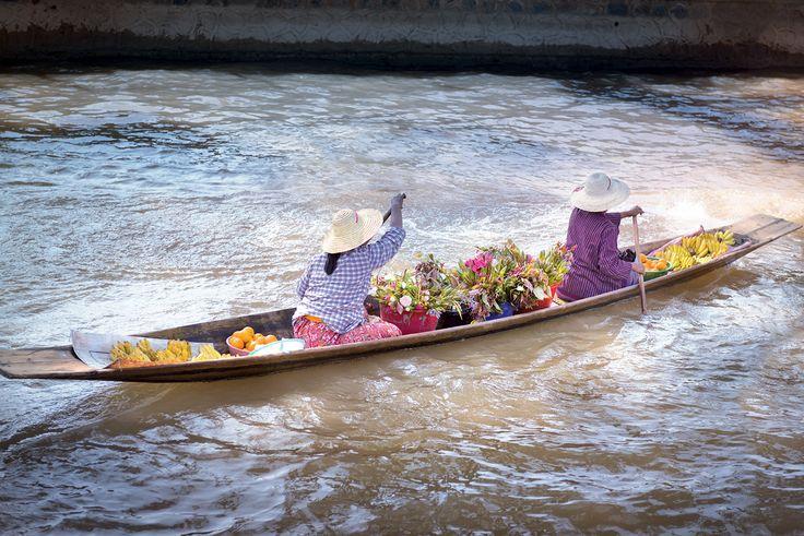 Barque Birmanie