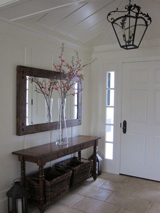 entryway with mirror idea | Spaces Entryway Mirror Design, Pictures, Remodel, Decor and Ideas ...