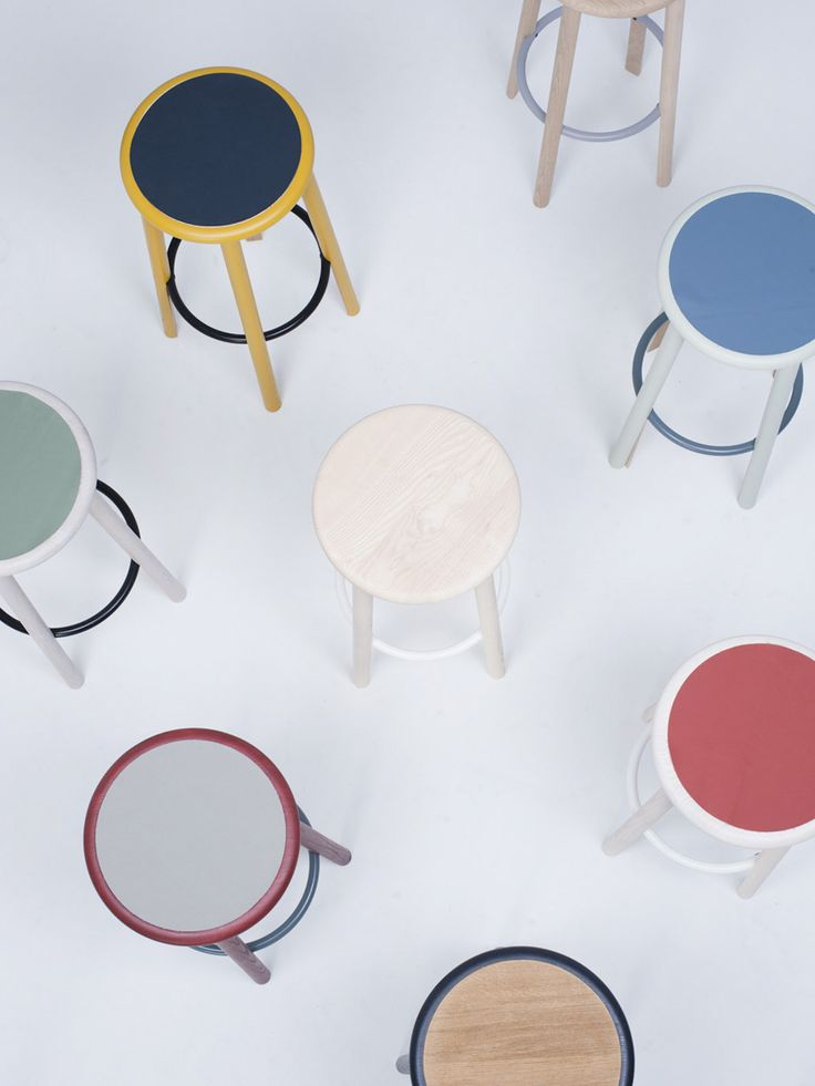 Studio Nitzan Cohen | mat solo stool | for mattiazzi