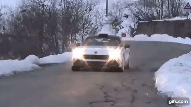 フィアット124アバルトR-GTのテスト映像を公開。モンテカルロのらりーコースで激走する映像がこちら 写真・画像