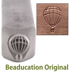 Metal Stamping Tools Hot Air Balloon Design Stamp-Beaducation Original
