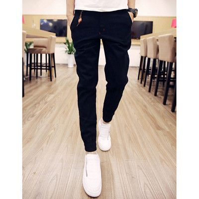 Dmart7deal Fashion Men Pants Casual Cotton Men jogger pants Leisure Pants men Trousers